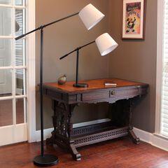 Chloe Adjustable Arm Floor Lamp,