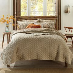 Leaf Stonewash Quilt Collection,