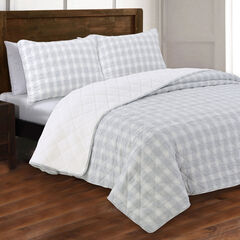 Estate Collection Huntington Flannel Quilt Set,