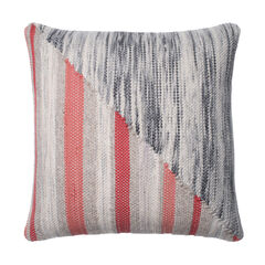Woven Sliced Stripe Decorative Pillow,