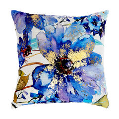 Floral Decorative Pillow,