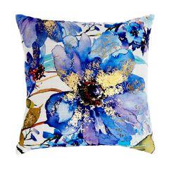 Floral Decorative Pillow,