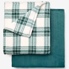 Fleece Blanket + Fleece Throw, PINE