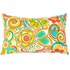 "20"" x 13"" Lumbar Pillow, BRONWOOD CARNIVAL"