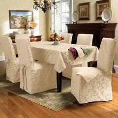 9-Pc. Square Damask Table Linen Set,