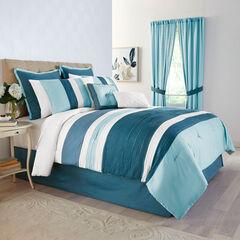 Bedford 8-Pc. Comforter Set, DARK TEAL