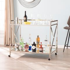 Maxton Gold Bar Cart,