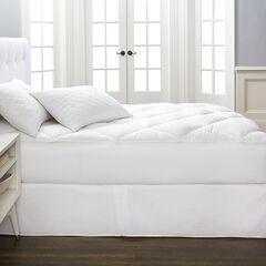 Cotton Collection Reversible Mattress Topper,