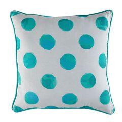 Reversible Watercolor Decorative Pillows,