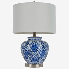 Antalya Blue Table Lamp,