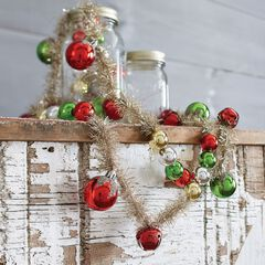 6' Tinsel Bell Garland,