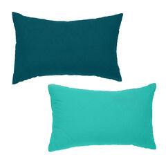 BrylaneHome® Studio Reversible Quilted Lumbar Pillow,