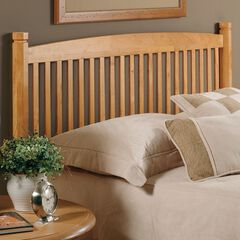 Oak Tree Headboard with Headboard Frame,