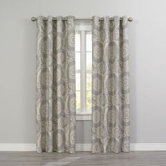 Floral Thermal Grommet Panel,