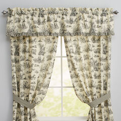 Toile Rod-Pocket Valance,