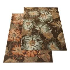 Large Laurent Floral Rug,