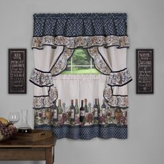 Chateau Cottage Window Curtain Set,