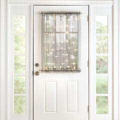 40' Pre-Lit Door Panel,