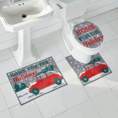 3-Pc. Holiday Bath Rug Set,