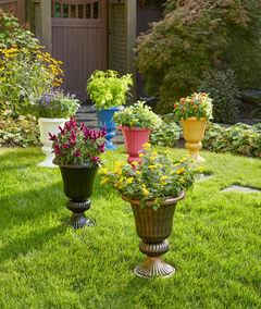 Embry Resin Planter Urn,
