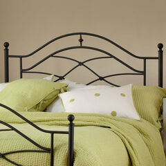 "Twin Headboard with Headboard Frame, 63½""Lx41""Wx52""H,"