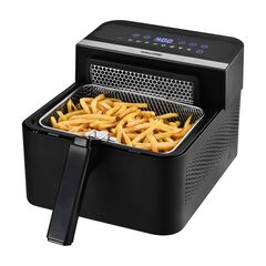 Kalorik® 2-in-1 Digital Air and Deep Fryer, BLACK