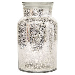 Tillian Jar with Rice Lights,