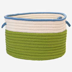 Cali Stripe Limelight Basket,