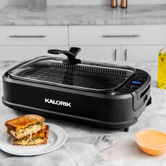 Kalorik Electric Indoor Smokeless Grill,