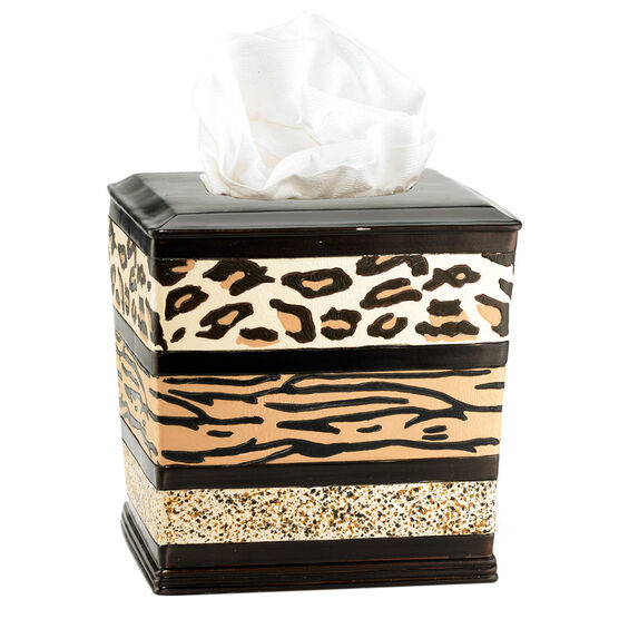 Gazelle Tissue Box, MULTI
