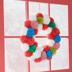 Pom Pom Wreath, MULTI