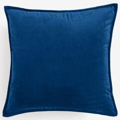 """BH Studio 20""""Sq. Velvet Pillow Cover, SAPPHIRE"""