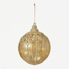 Champagne Ball Ornament,