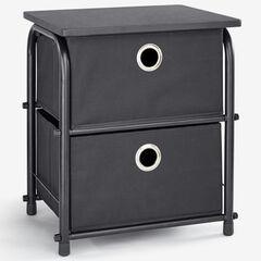 Eve 2-Drawer Soft Storage, BLACK