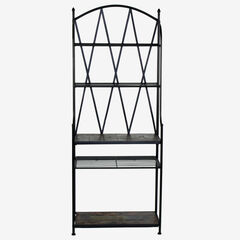 Baker's Rack with Slate Top,
