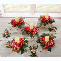 Avery Candle Rings, Set of 5,