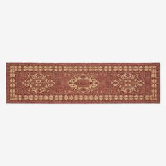 "Carmel Indoor/Outdoor Kilim Rug 1'1"" x 7'6"","