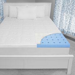 SensorPEDIC Luxury Extraordinaire 3-Inch Memory Foam Mattress Topper,