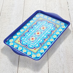 Blue Casab Serving Tray,