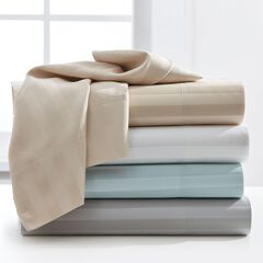 1200-TC. Striped 6-Pc. Sheet Set,