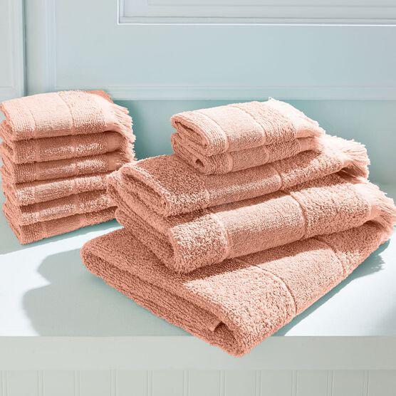 Antimicrobial Jolie 4-Pc. Towel Set, ROSE