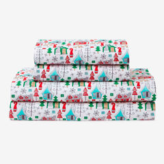 Holly Jolly Microfiber Sheet Set, CABIN