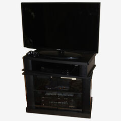 Swivel Top Entertainment Cart,