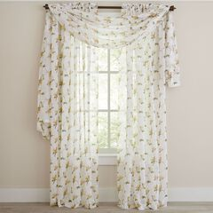 Chancellor Crushed Voile Panel,