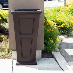 "Fairfield 40"" Tall Waste Bin,"