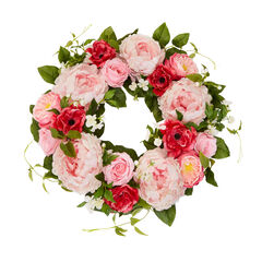 Veranda Peony Wreath,