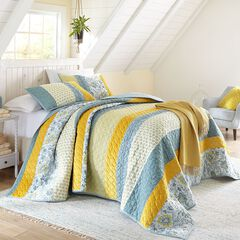 Gia Patchwork Bedspread Collection,