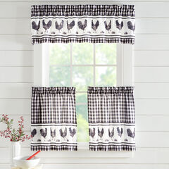 Printed Kitchen Tier Set, BLACK ROOSTER