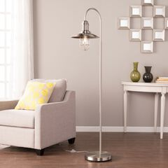 Pinsley Caged Bell Floor Lamp,