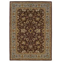 Trio Brown Area Rug Collection,